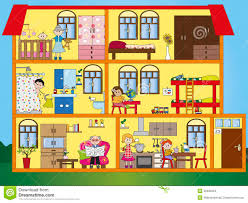 Floor Plan Furniture Clipart Room Clipart Inside House Pencil And In Color Room Clipart