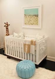 Babyletto Modo 3 In 1 Convertible Crib Muted Neutral Nursery With Batten Board Room Pinterest