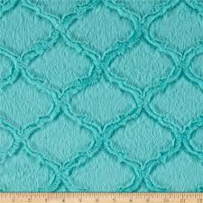 shannon minky luxe cuddle lattice aruba discount designer fabric