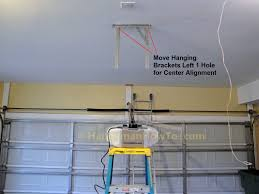 how to install a garage door opener i91 for wow home designing