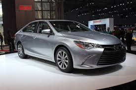 toyota 2015 models 2015 toyota camry new york auto show live photos