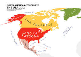 america in world map 31 maps mocking national stereotypes around the world bored panda