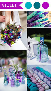 purple and blue wedding 5 different shades of purple wedding colors