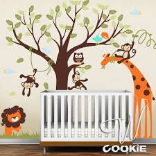 Safari Nursery Wall Decals Wall Decal Safari Wall Decor Nursery Room Decor Wall
