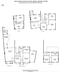 Clarence House Floor Plan by 6 Bedroom House For Sale In Clarence Crescent Windsor Sl4 Sl4