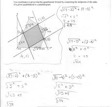 midpoints of sides of a quadrilateral students are asked to prove