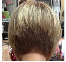 the stacked bob hair style is a tightly layered hair style