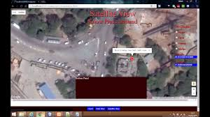 Satellite View Maps Google Maps Tutorial Show Satellite View And Distance Calculation