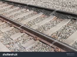 Light Up Rocks by Light Rail Train Tracks Ties Over Stock Photo 293998649 Shutterstock