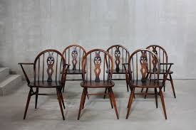 Ercol Dining Table And Chairs 371 371a Dining Chairs By Lucian Ercolani For Ercol