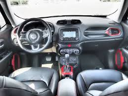 jeep renegade interior orange 2016 jeep renegade trailhawk review