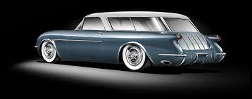 1953 corvette wagon superior 54 kit pays tribute to the 54 corvette nomad concept