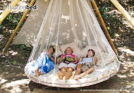 outdoor floating bed can the floating bed help with sleep arlington heritage group inc