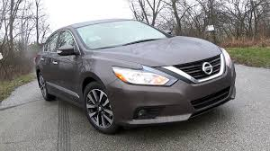 grey nissan altima 2016 nissan altima 2 5 sl review youtube
