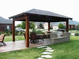 Backyard Covered Patio Ideas Decor Tips Covered Patio With Outdoor Kitchen And Patio