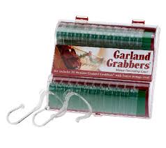 Garland Hangers For Banister 24 Piece Banister Grabbers With Ribbon Placer Page 1 U2014 Qvc Com