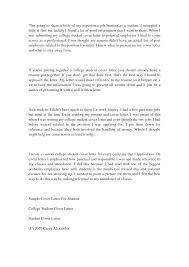 cover letter high internship cover letter high