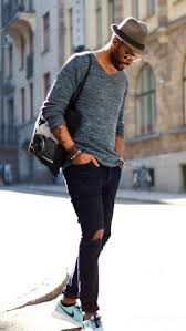 What To Wear With Light Jeans How To Wear Black Ripped Jeans 69 Looks Men U0027s Fashion