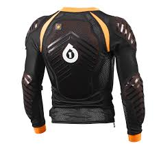 evo six six one evo compression jacket long sleeve black 7051 05