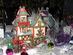 department 56 halloween village clearance christmas village fun blog decorating the christmas table with