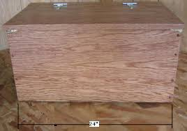 Build Wood Toy Box by Free Toy Box Plans How To Build A Wooden Toy Box