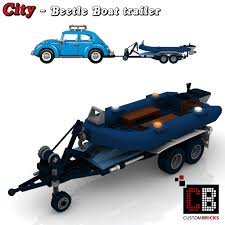 lego volkswagen beetle custombricks de lego city anhänger fahrzeug trailer