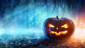 pumpkin halloween background glowing halloween pumpkin hd wallpaper 1920x1080 id 59798