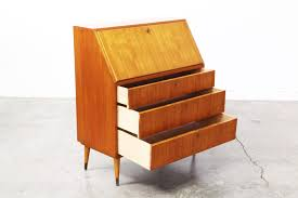 Danish Modern Teak Desk by Danish Modern Teak Secretary Desk Vintage Supply Store
