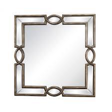 trump home syracuse mirror in antique gold dm2028 dekker lighting