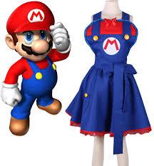 mario brothers halloween costumes popular female mario costume buy cheap female mario costume lots