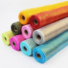 cheap deco mesh cheap deco mesh metallic line wrap 60152 deco mesh wholesale