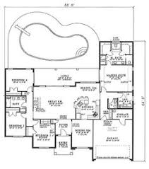 4 Bedroom House Plans One Story Single Story House Plans Home Design Ideas