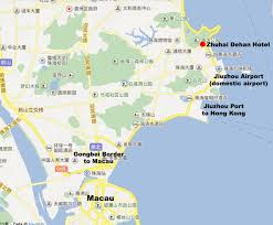 Macau China Map by Conference Hotel Ieee Robio 2015