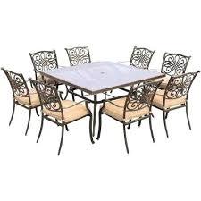 Aluminum Patio Dining Set Cast Aluminum Patio Dining Table Cast Aluminum Outdoor Dining
