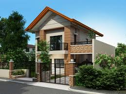 alberto is a two storey house design that can be fitted in a not
