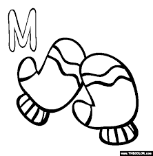 Alphabet Online Coloring Pages Page 1 M Coloring Pages