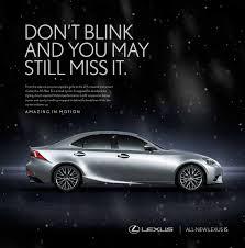 lexus luxury brand wade hesson advertising copywriter creative director lexus brand