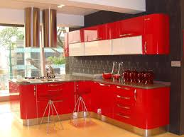 Kitchen Cabinets Two Colors Kitchen Designs Low Budget Modular Kitchen Painting Cabinets Two
