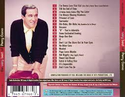cd album perry como the best of perry como rca usa