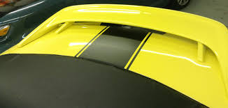 Yellow Mustang With Black Stripes Car Skins Portfolio Gallery