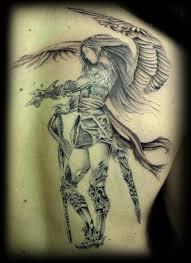 tatuajes de ángeles guerreros vix