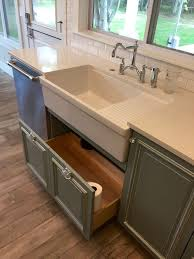 apron sink with drainboard kitchen farmhouse apron sink with drain board grey cabinets with