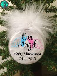 infant loss christmas ornaments memorial ornament baby angel infant loss awareness heaven has a