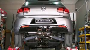 volkswagen brunei volkswagen cende valvetronic exhaust on vw golf 6 r youtube