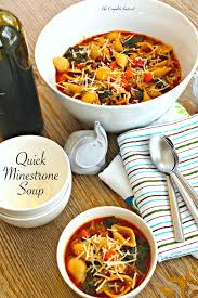 Italian Soup by Quick Minestrone Soup The Complete Savorist
