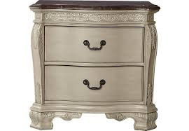 cortinella white marble top nightstand nightstands colors
