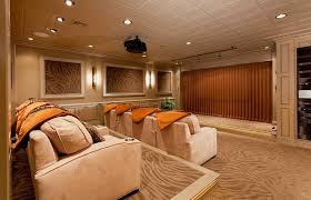 Awesome Basement Home Theater Ideas - Home theater stage design