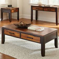 steve silver coffee table shop steve silver company abaco two tone cordovan cherry acacia