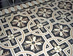 hand made trapani midnight decorative cement tile by villa lagoon