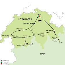 Italy Map By Rail Italy by Cosmos Tours Scenic Switzerland By Train 2016